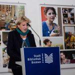 Begrüßung durch Lore Kleinert vom Literaturfestival globale°